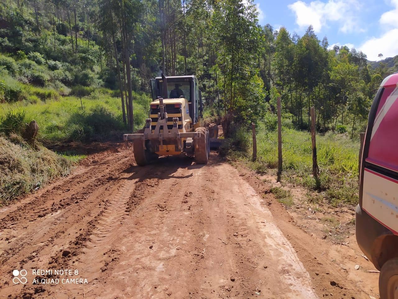 Melhorias nas estradas rurais!
