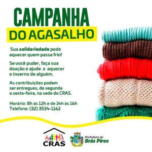 Campanha do Agasalho: Sua solidariedade pode aquecer quem passa frio!